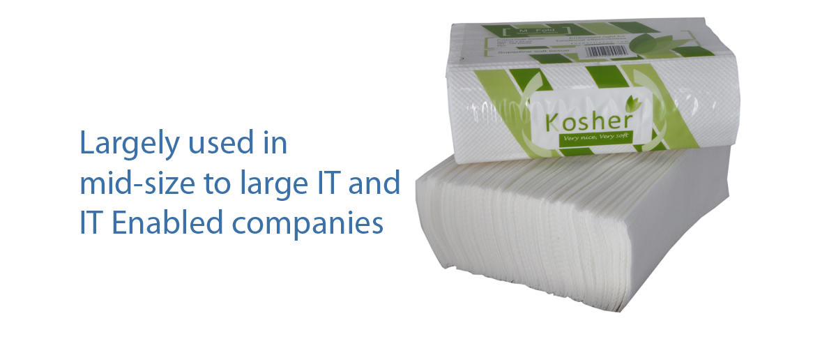 Kosher tissue for Kosher cleaning requirements